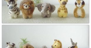 [2016.3.15] Wonder Zoo | Needle Felted Wool Animals Projects Inspiration & Ideas