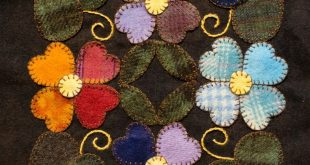 25+ best ideas about Wool applique on Pinterest | Wool applique patterns, Wool q...