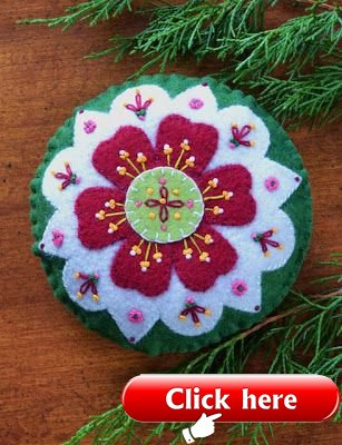Anita's Little Stitches: New Wool Felt Patterns, $6. Seem to be sold out.