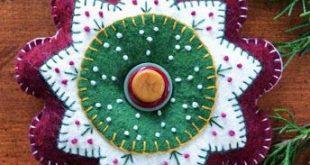 Anita's Little Stitches: New Wool Felt Patterns, scissors, charms and Aleene...