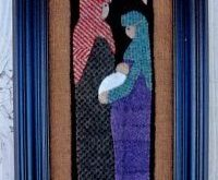 Bits and Pieces by Joan A Gift from Bethlehem The Pattern Hutch wool applique cr...
