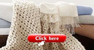 Fabrics & Linens: Chunky Wool Blanket from Serena & Lily
