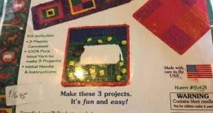 Kids Needlepoint Kit