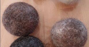 Making Felted Dryer Balls 15