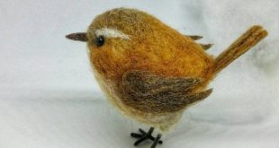 Needle felted wren, woodland creature for bird lovers, collectors item