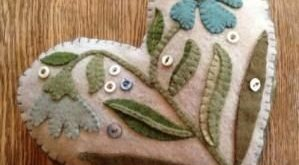 Wool Applique | My Spare Time Crafts! by louise