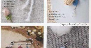 Wool Felt Accessories Japanese Craft Book by JapanLovelyCrafts