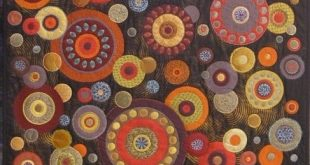 wool applique, this would be a fun project for the winter!!                     ...