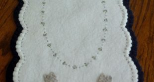 1000+ images about Penny Rugs - Wool felt applique on Pinterest | Wool, Penny ru...