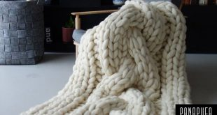 Chunky knit blanket cable knit, Chunky Knit Throw, Chunky yarn blanket, Chunky knit blanket, Super chunky yarn blanket,Merino wool