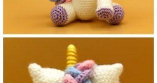 Crochet Rainbow Unicorn Amigurumi Free Patterns