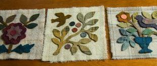 Front Porch Indiana: Folk Art Wool Applique
