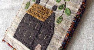 Homestead Needlekeeper Pattern - Wool Applique - #NK62