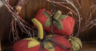 Sew Many Notions - Wonderful Wool Appliques, Simple Stitcheries, and More