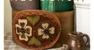 Stitching Smalls: Wool Appliqué Patterns from Rebekah L. Smith