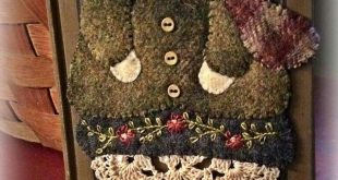 The 25+ best Wool applique ideas on Pinterest | Wool ...