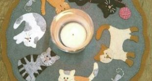 The Cat's Meow Candle Mat