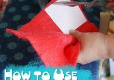 Tutorial: How to Use Freezer Paper to Cut Wool Felt - Muse of the Morning Crafty...