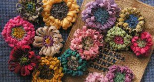 wool flower garden