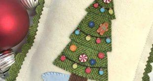 Free Pattern & Tutorial: Merry Little Christmas Appliqué
