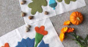 Autumn Love Block Party – Wool Applique – Riley Blake Designs