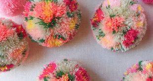 DIY Floral Pom Poms – Honestly WTF
