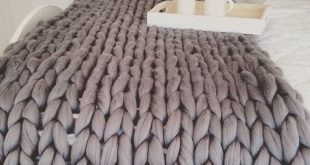 Giant Hand Knitted Super Chunky Throw