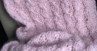Ready Alpaca Wool Blanket Hand Knitted Huge Throw Very Soft Blush Rose Pink Couch Cover Cable  Knit