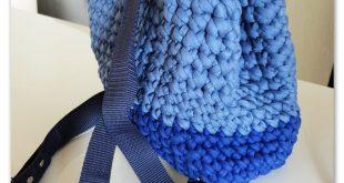 Rucsac crosetat  2019  crocheted backpack  The post Rucsac crosetat  2019 appear...