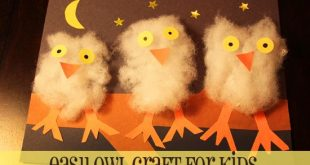 This craft was a hoot. I couldn't help myself, sorry. But it is true. I thin...