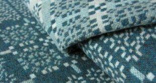 Welsh Wool Blanket Teal