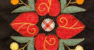 Wool Appliqué - Intimistic Quilt Company - Inspired by - Affairs of the heart w...