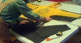 ▶ Wool blanket coat DIY With fringes. - YouTube