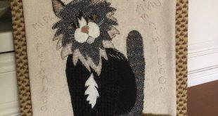"Wool applique pattern "" Furnando"""