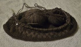 Wool - Tribulations of Hand Spinning and Herbal Dyeing: Larch Bark Dyed Wool Fel...