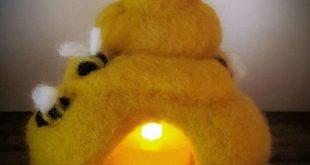 Bee hive night light