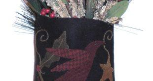Bird-n-Holly Christmas Bag