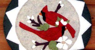 Cardinals & Blooms By Curo, Pamela