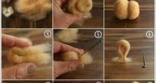 DIY Needle Felted Bunny Tutorial