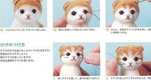 DIY handmade Wool Felt Book Lovely Animal ---- Chinese Craft Book H109-050