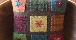 Embroidery stitches wool penny rugs 32+ ideas for 2019