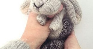 Holland Lop Rabbit pattern by Claire Garland
