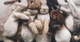 Knitted bunny 🐰 patterns