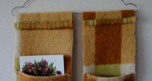 Naaien: Dekens *Sewing: Blankets ~Deken met Opbergvakjes aan hanger van Naaldena...