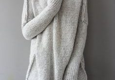 Oversized Chunky Alpaca Wool woman knit sweater. Thumb holes sweater. Turtleneck sweater