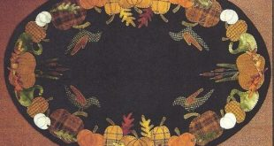 Primitive Folk Art Wool Applique Pattern by PrimFolkArtShop, $9.75