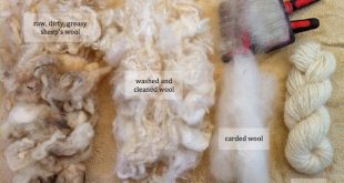 Processing Raw Fleece  Crafty Katie  2019  Processing Raw Fleece  Crafty Katie  ...