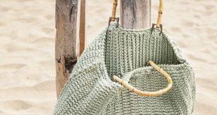 Schicke Strandtasche