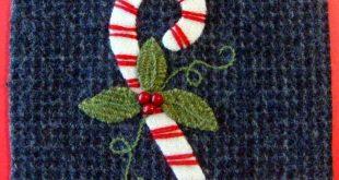 Stitching Society Wool Hexagon