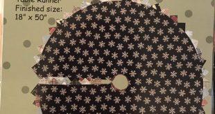 Sweet Season - Primitive wool or cotton applique pattern - Tree skirt, Table topper - Bonnie Sullivan - All Through the Night